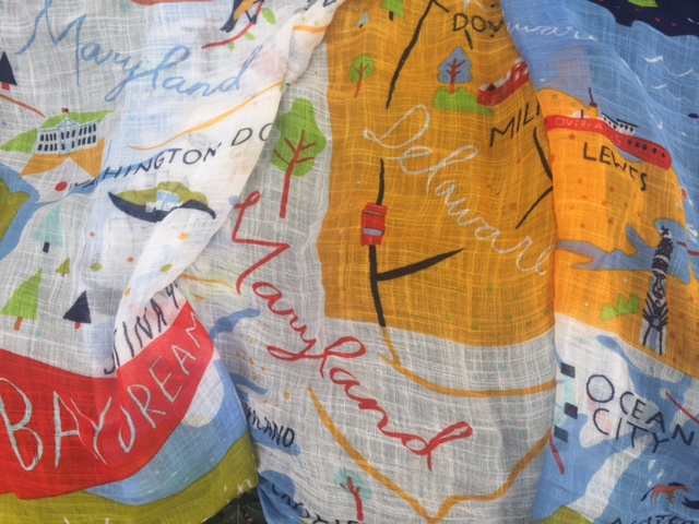map-of-maryland-scarf