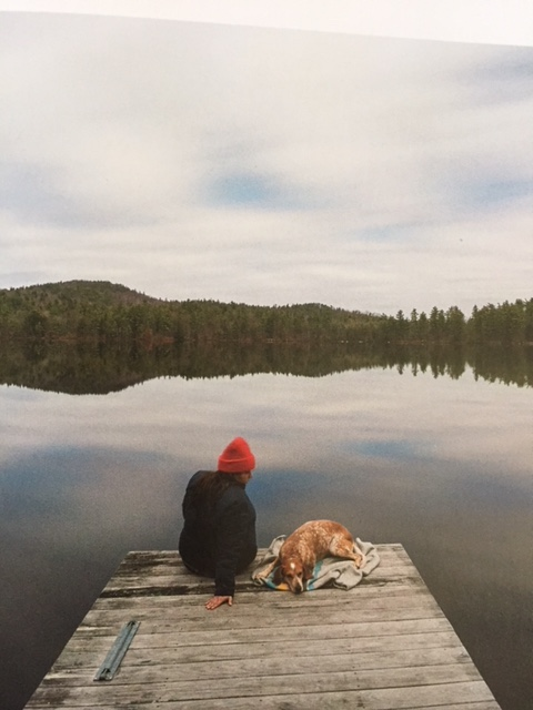 Maddie on dock